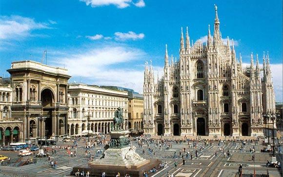 Mailand soll ja um die Jahreszeit ganz schön sein