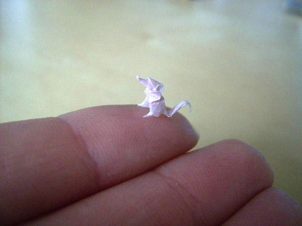 Mikrorigami: Kleinstpapierfaltkunst miniature_origami_01