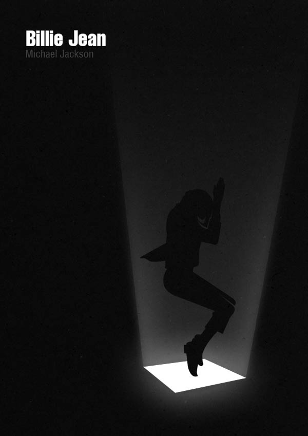 Minimalistic Michael Jackson Posters