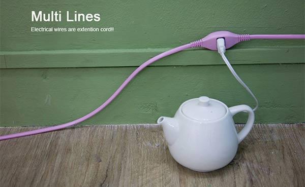 Das löcherige Verlängerungskabel multi_lines_01