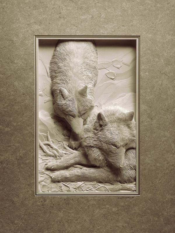 Papercraft by Calvin Nicholls