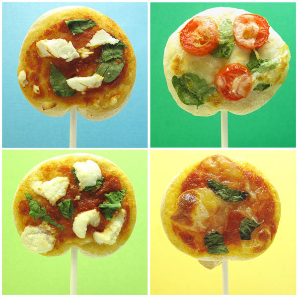 Pizza-Lollipops