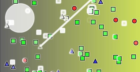 Kettenreaktionspolygone polygonal_fury