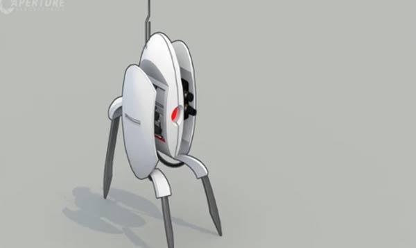 Portal 2 Turret Trailer
