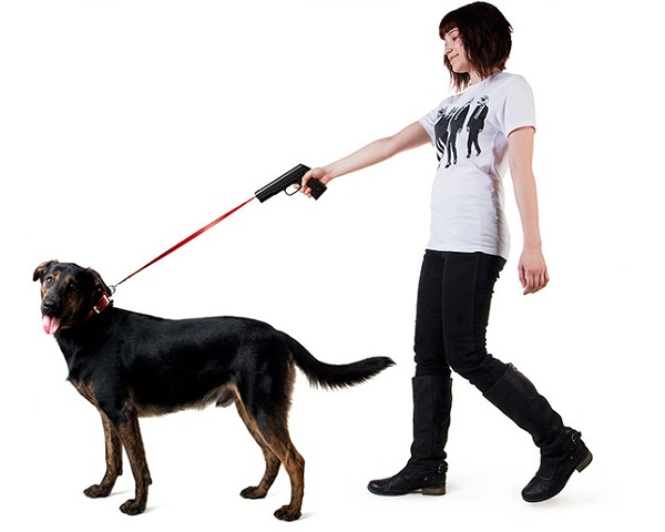 Lasergun-Hundeleine povodokus_dog_laser_leash