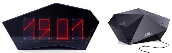 Die Laseruhr reflectius_clock