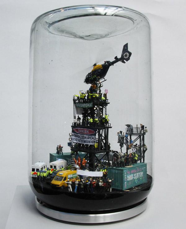 Riots in a jam jar