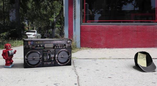 Miniroboter als Street Dancer robotdance