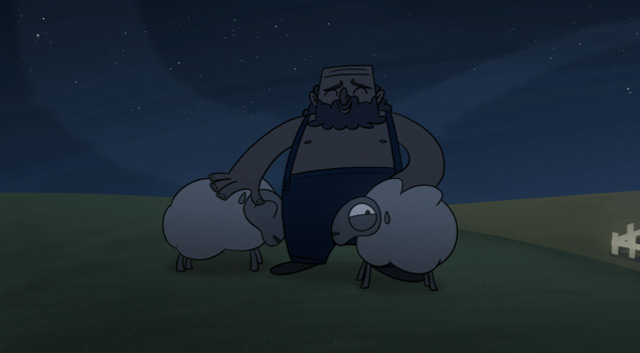 Animated Short: Sheeped Away