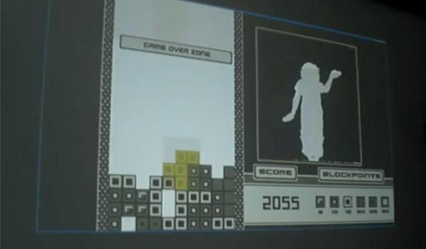 Kinect Hack: Der eigene Körper als Tetris-Stein silhouetris