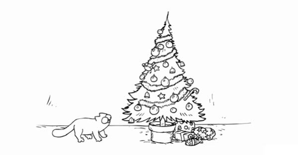 Simon's Cat: Santa Claws simonscat_santaclaws