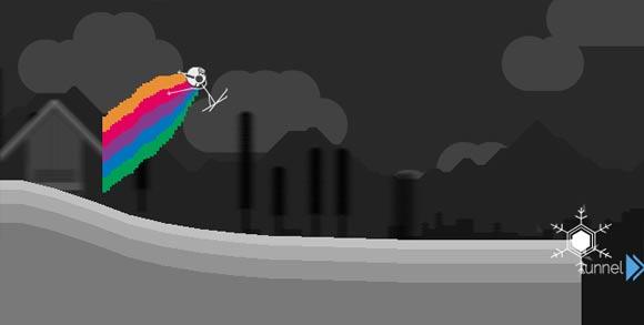Game: Skiabfahrtszeichner solipskier