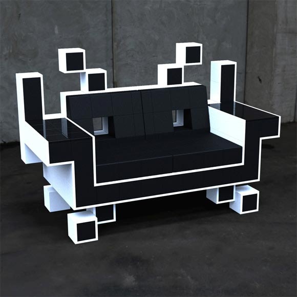 Space Invader Couch spaceinvaderscouch
