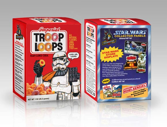 Star Wars Cereal Boxes