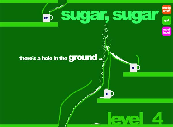 Spiel den Zuckerverteiler sugarsugar_game