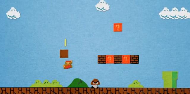 Super Mario Bros. aus Papier super_mario_paper