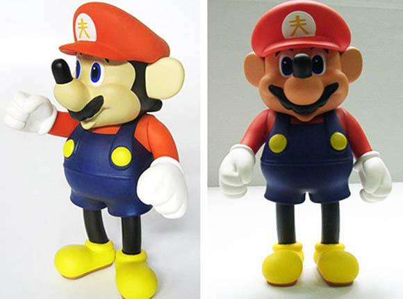 Unheimlich: Mickey Mario / Super Mickey supermickey