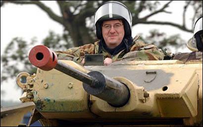 Pink Panzer tankball