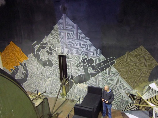Tape Art by Orto
