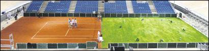 Tennis halb-halb tennishalbhalb