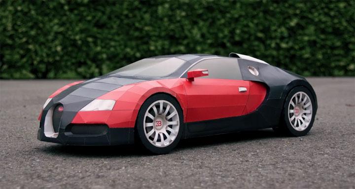 Papercraft Bugatti Veyron papercraft_bugatti_01