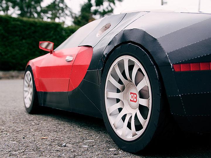 Papercraft Bugatti Veyron papercraft_bugatti_05