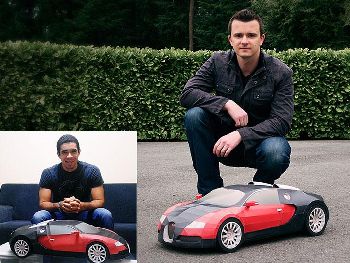 Papercraft Bugatti Veyron papercraft_bugatti_06