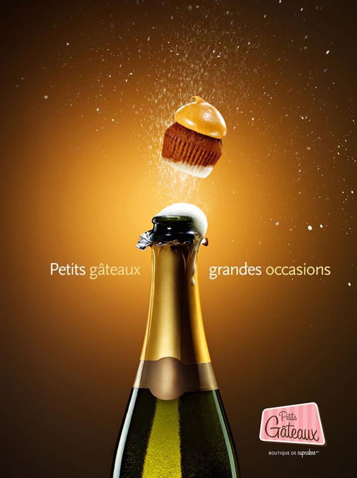 Süße Cupcake-Werbung petit_gataux_03