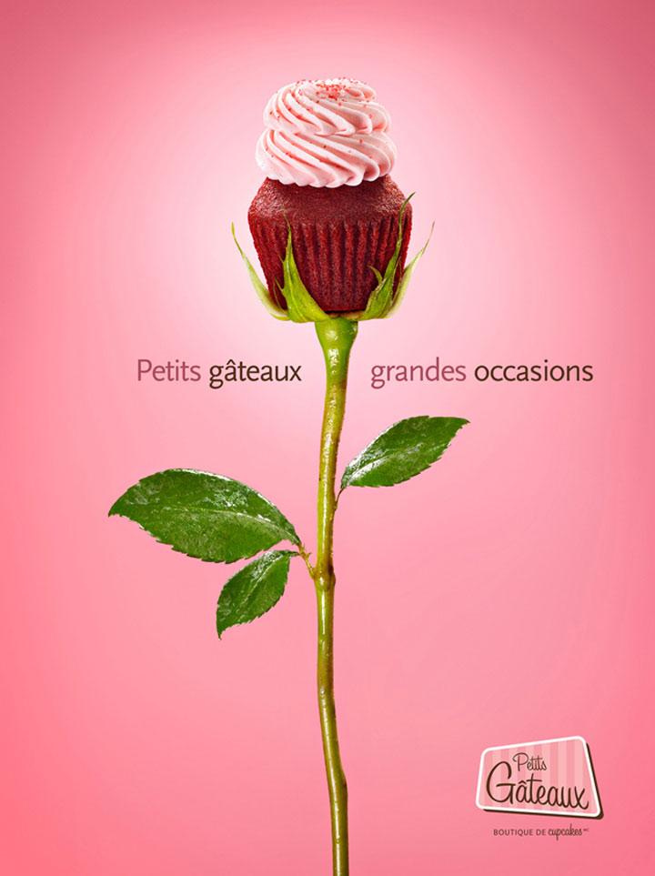 Süße Cupcake-Werbung petit_gataux_04