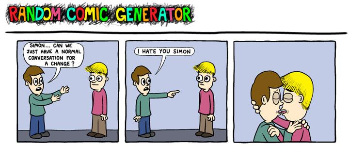 Random Comic Generator