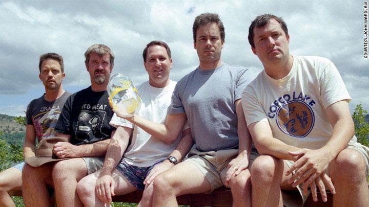 Alle 5 Jahre das gleiche Gruppenfoto samegroupphoto_every5yrs_05