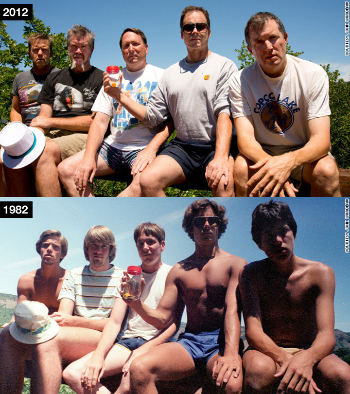 Alle 5 Jahre das gleiche Gruppenfoto samegroupphoto_every5yrs_07