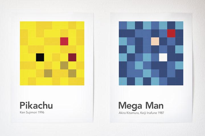 Videospielcharaktere in 64 Pixeln scrambled_videogamecharacters_03