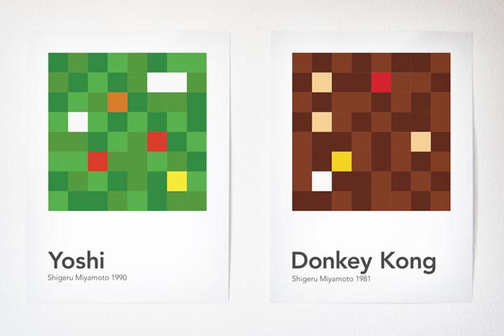 Videospielcharaktere in 64 Pixeln scrambled_videogamecharacters_06