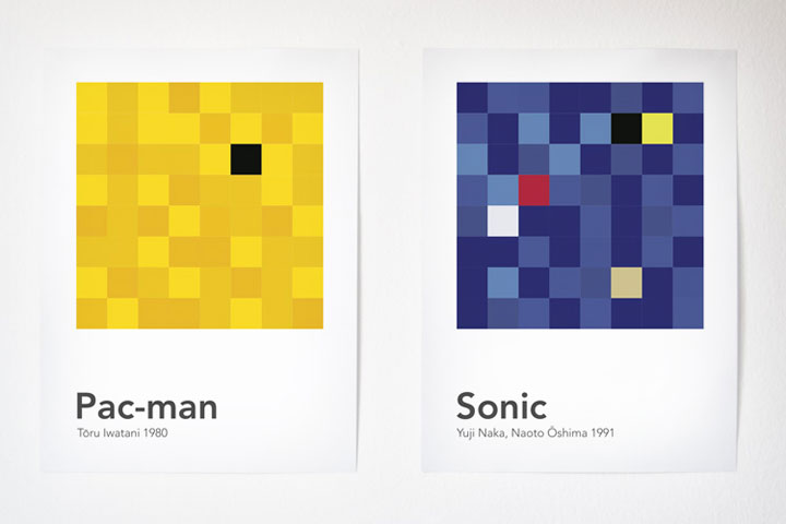 Scrambled Video Game Characters