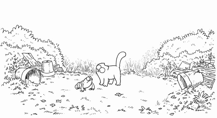 Simon's Cat - Tongue Tied