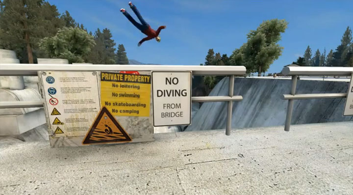 Skate 3: more Glitches & Fun