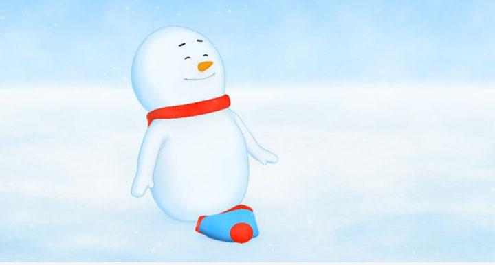 Der kleine Schneemann und die Karottennase snow_drifter