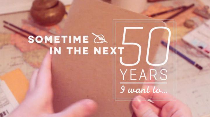 Schön: In den nächsten 50 Jahren mache ich... sometimesinthenext50yearsiwantto