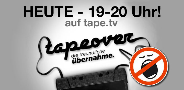 HEUTE: LangweileDich.net übernimmt tape.tv! tapeover_lwdn_heute