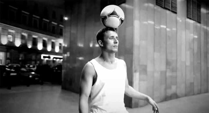 Kunst am Ball: Fußball-Streetart