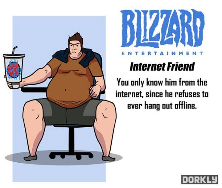 Wenn Videospielkonzerne deine Freunde wären videogamecompanies_as_friends_01