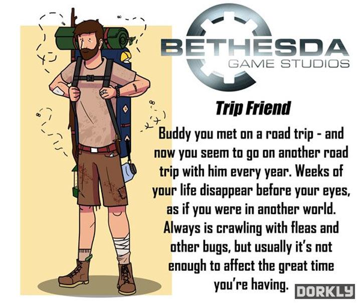 Wenn Videospielkonzerne deine Freunde wären videogamecompanies_as_friends_02