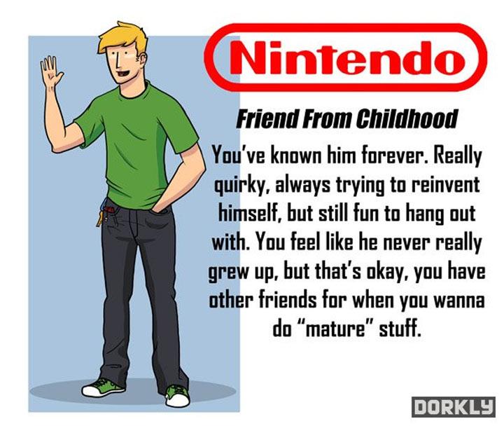 Wenn Videospielkonzerne deine Freunde wären videogamecompanies_as_friends_04