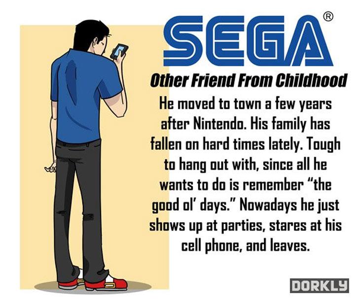 Wenn Videospielkonzerne deine Freunde wären videogamecompanies_as_friends_05