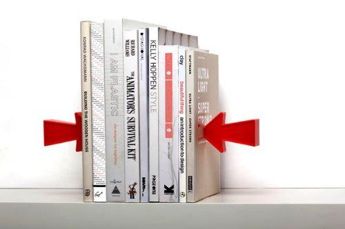 Design: Schwebende Buchstützpfeile