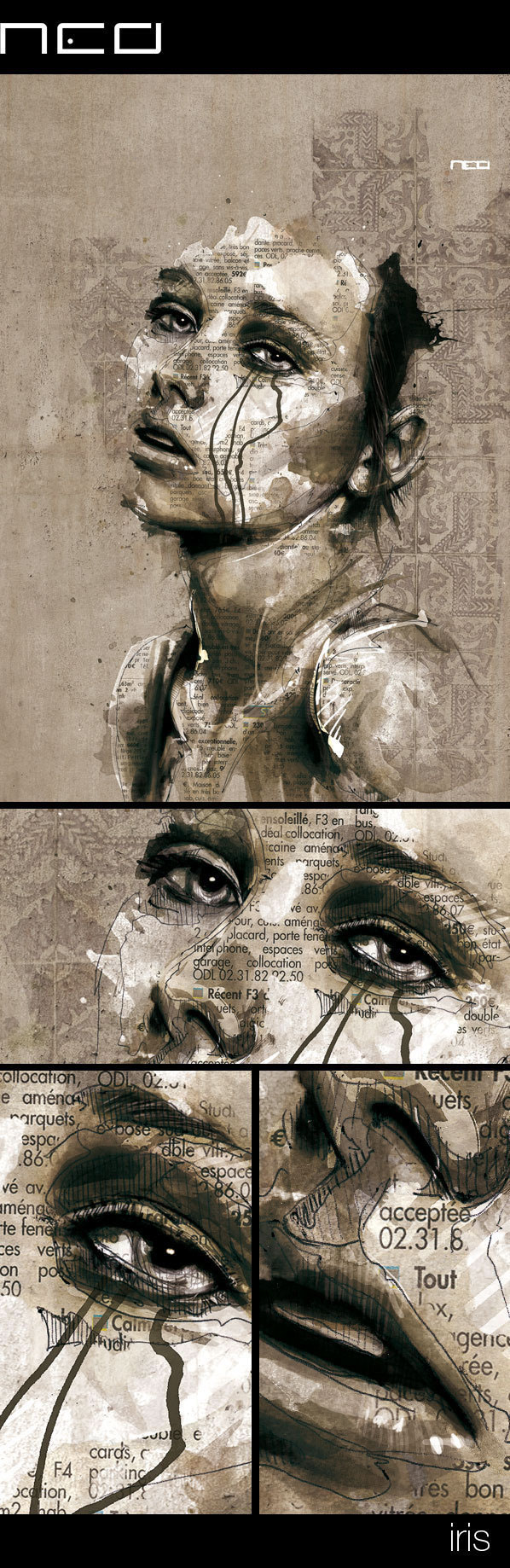 illustrierte Zeichnungsmalereidingse 9930ef3270040.5601a12832718