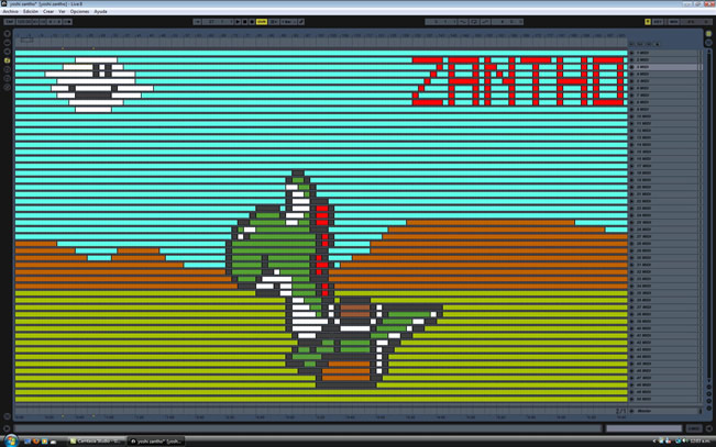 Ableton Pixel Art zantho2