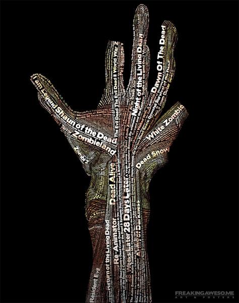 Zombie Typo Hand Zombies_art