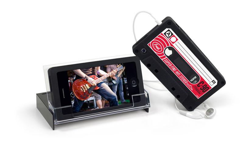 Retro Kassettenhülle fürs iPhone